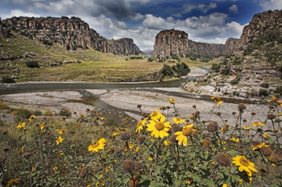 Tres Cañones Regional Conservation Area in Cusco. Photo credit: Walter Wust.