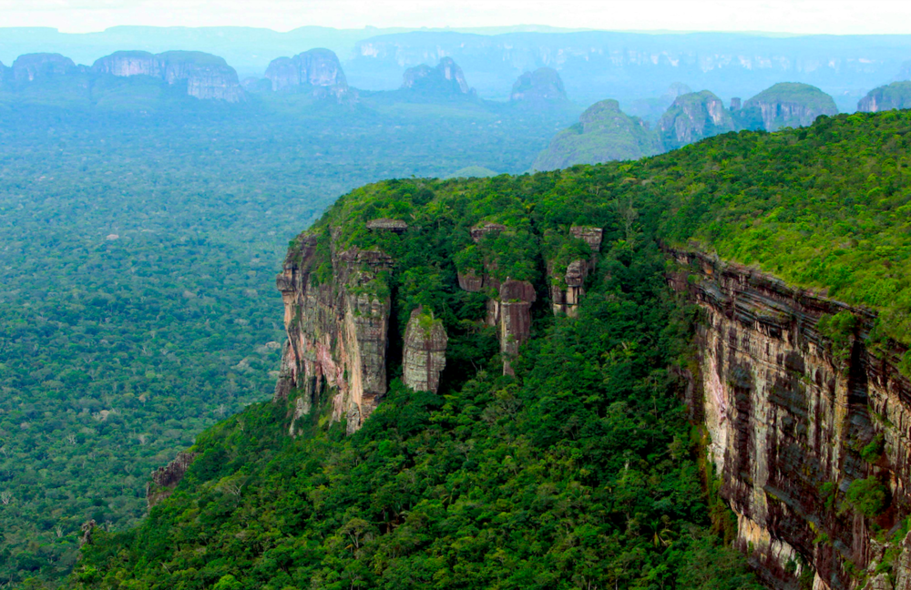 Chiribiquete is now the world's largest tropical rainforest national park.