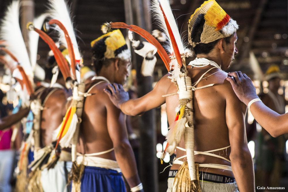 Puerto Córdoba, Comeyafú, and Camaritagua indigenous reserves