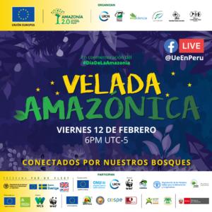 poster promocional para la velada amazonica